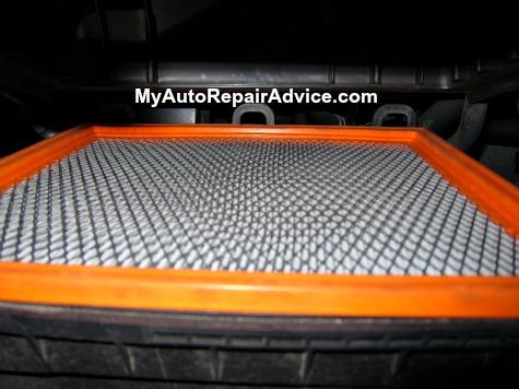 Air Filter in Air Box
