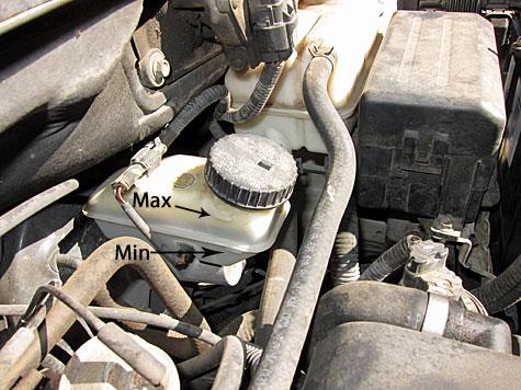 Check Brake Fluid Level