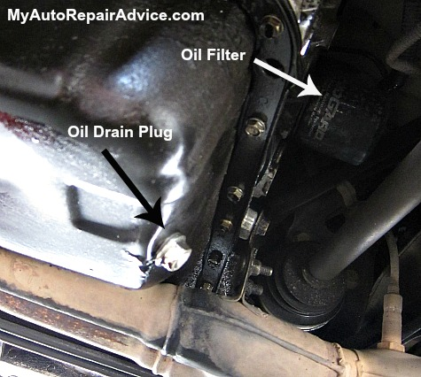 Oil Filter Location