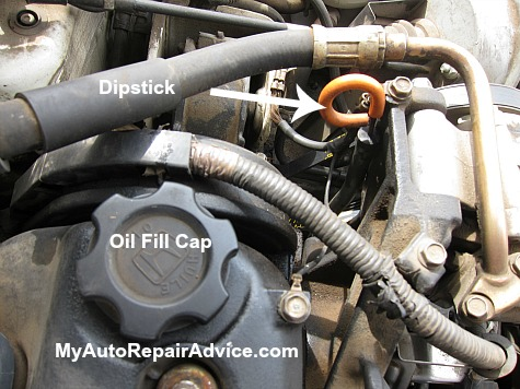 how to check oil level in a car