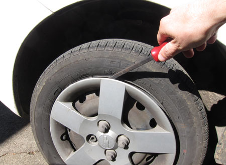 Remove Wheel Cover