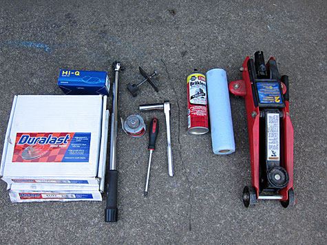 Tools Needed for Brake Job