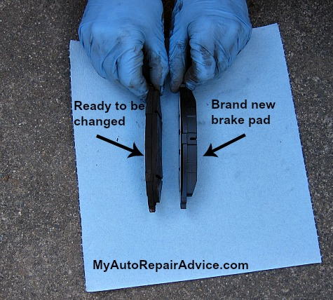 When To Replace Brake Pads >> How To Check Brake Pads