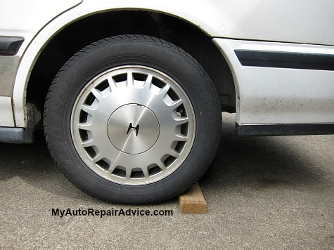 How to Block Tires