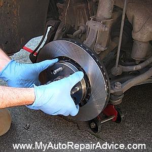 Brake Rotor Installation