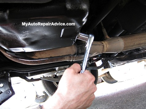 Removing Oil Drain Plug