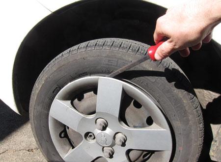 Remove Wheel Cover