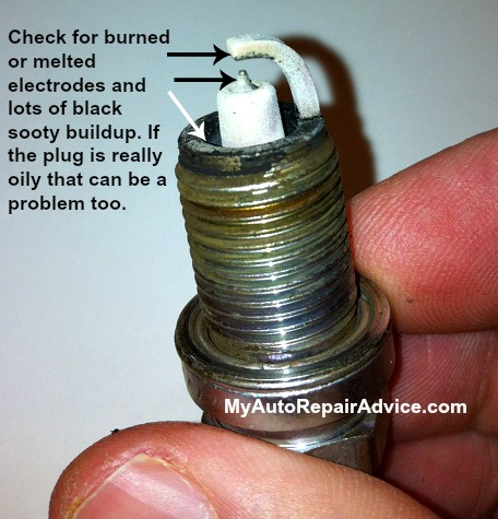 Spark Plug Close Up